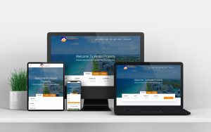 WordPress Website Design: Portfolio Mockup Image Versat Property
